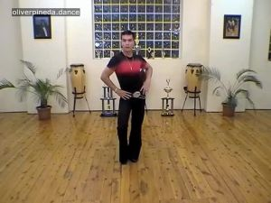MV18 Movement Hips Ribcage Shoulders Stepping Action to music